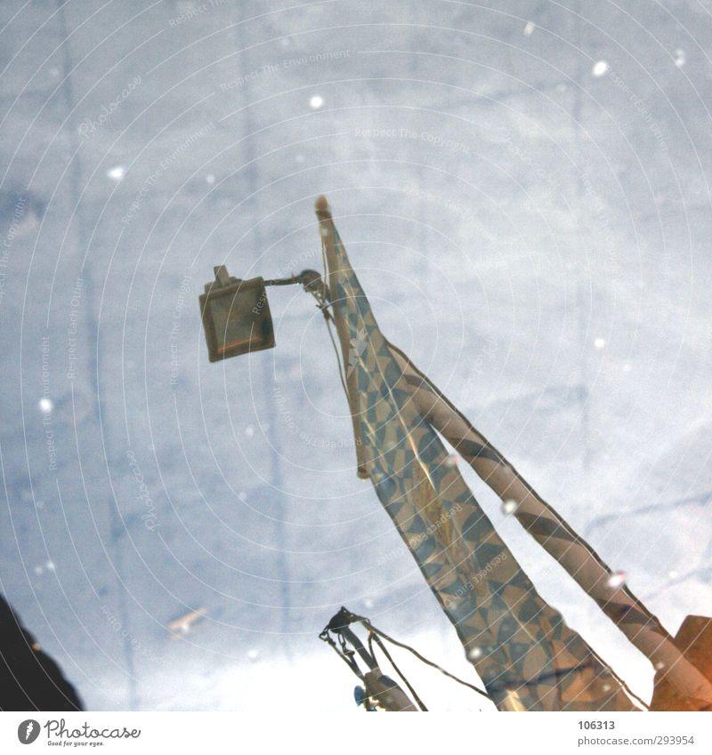 nu Building Esthetic Reflection Lamp Lantern Floodlight Sidewalk Colour photo Exterior shot