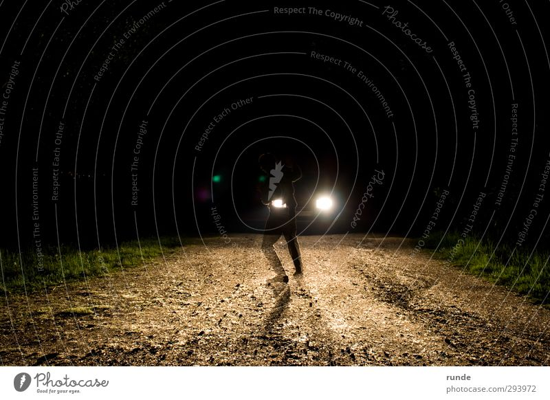 Human being Nature Black Forest Yellow Dark Street Grass Lanes & trails Sand Car Brown Fear Dirty Earth Hiking