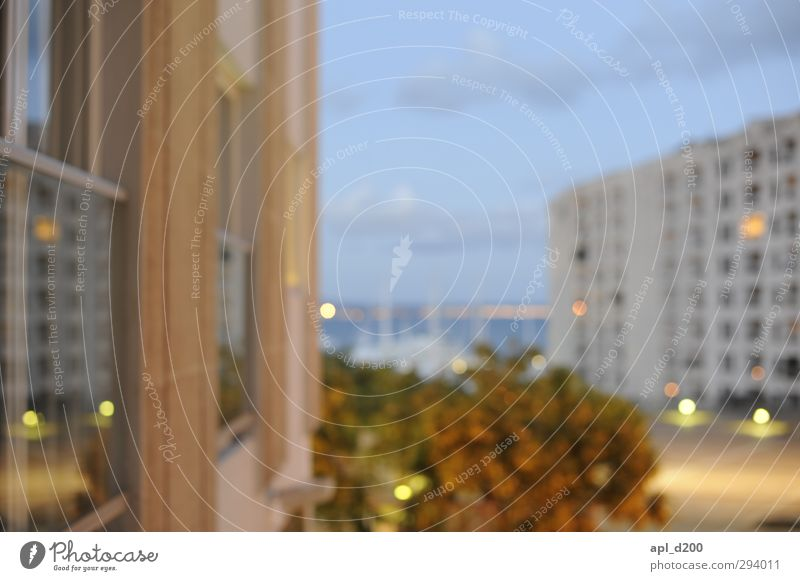 Somewhat blurred Vacation & Travel City trip Summer Palma Spain European Capital city Port City House (Residential Structure) Looking Town Warmth Blue