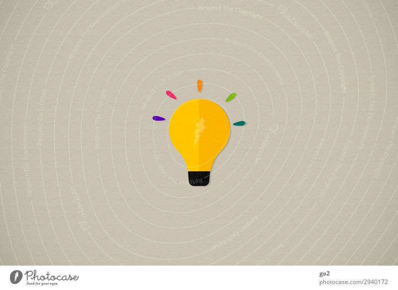 ideal Leisure and hobbies Playing Handicraft Electric bulb Sign Exceptional Uniqueness Curiosity Multicoloured Happiness Optimism Life Surprise Design Energy