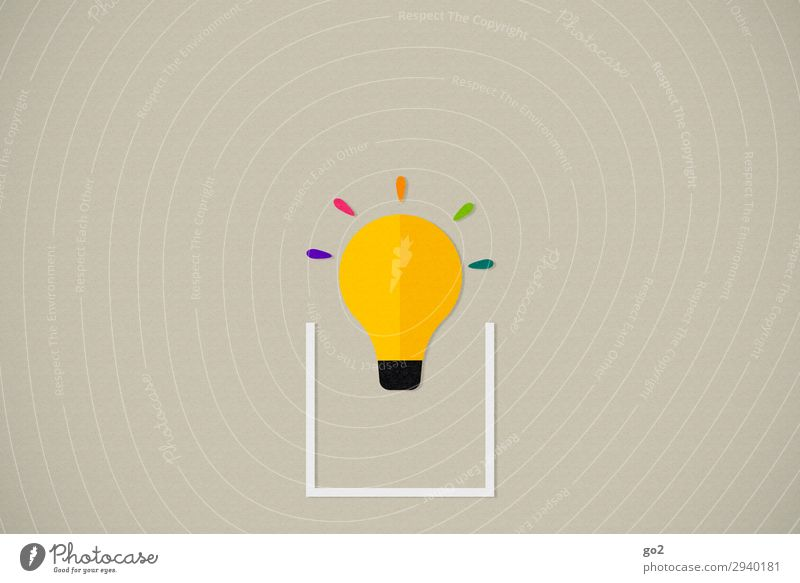 think outside the box Advertising Industry Meeting Electric bulb Sign Esthetic Exceptional Fresh Infinity Uniqueness Curiosity Multicoloured Optimism Flexible