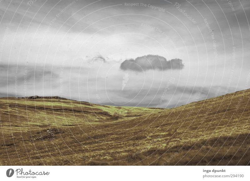 Sky Nature Plant Clouds Landscape Environment Far-off places Dark Mountain Cold Autumn Climate Tourism Empty Adventure Hill