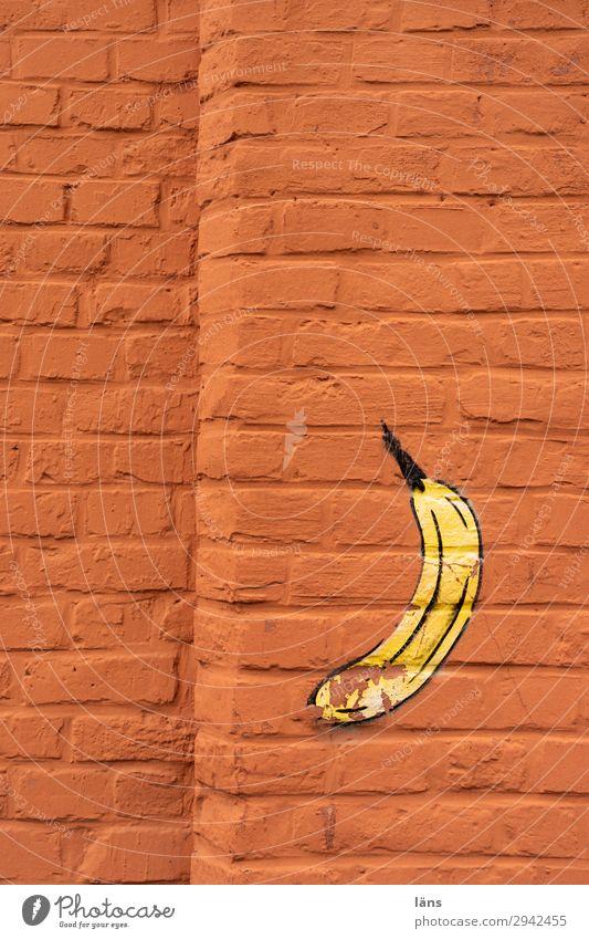 all Banana Wall (building) Wall (barrier) Kassel Kassel district Graffiti Eye-catcher