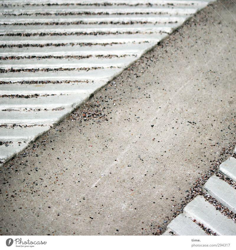 City Lanes & trails Gray Sand Contentment Arrangement Elegant Transport Esthetic Concrete Planning Protection Safety Firm Concentrate Irritation