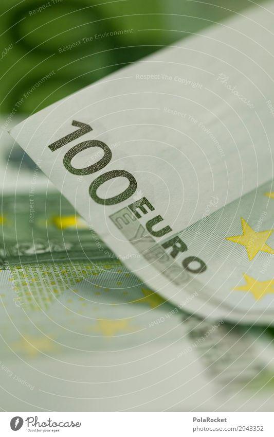 #A# 100 Eurons Art Work of art Esthetic Euro symbol Money Financial institution Bank note Donation Monetary capital Financial transaction Colour photo