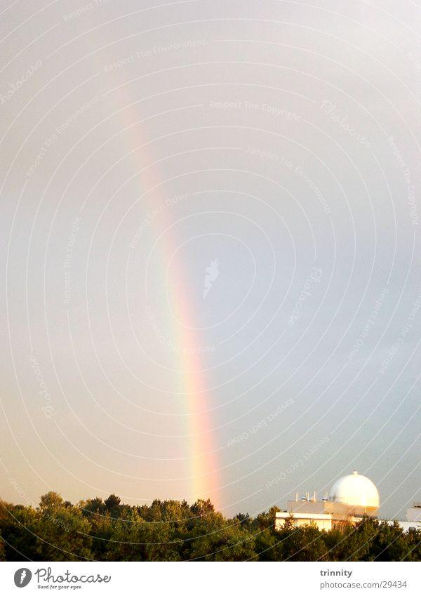 Nature Sky Rain Rainbow
