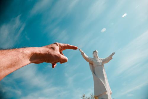 Statue of Jesus in Poland: Pomnik Chrystusa Króla Vacation & Travel Tourism Trip Adventure Far-off places Freedom Sightseeing City trip Architecture