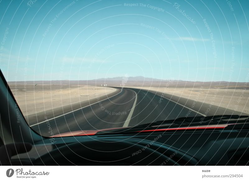 Sky Blue Black Street Lanes & trails Car Window Sand Horizon Leisure and hobbies Transport Speed Gloomy Driving Desert Dry