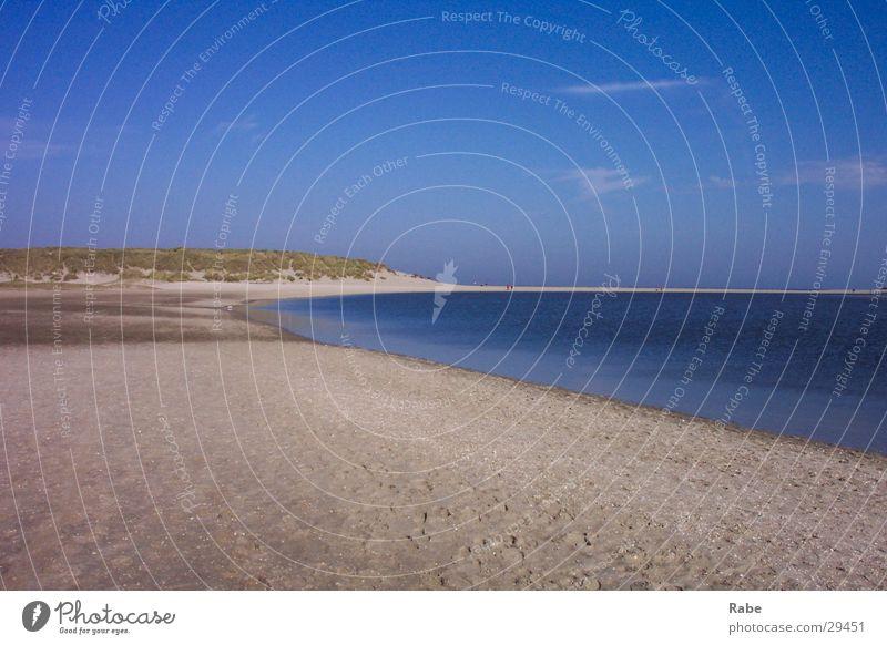 Ocean Beach Sand Island North Sea Netherlands Texel