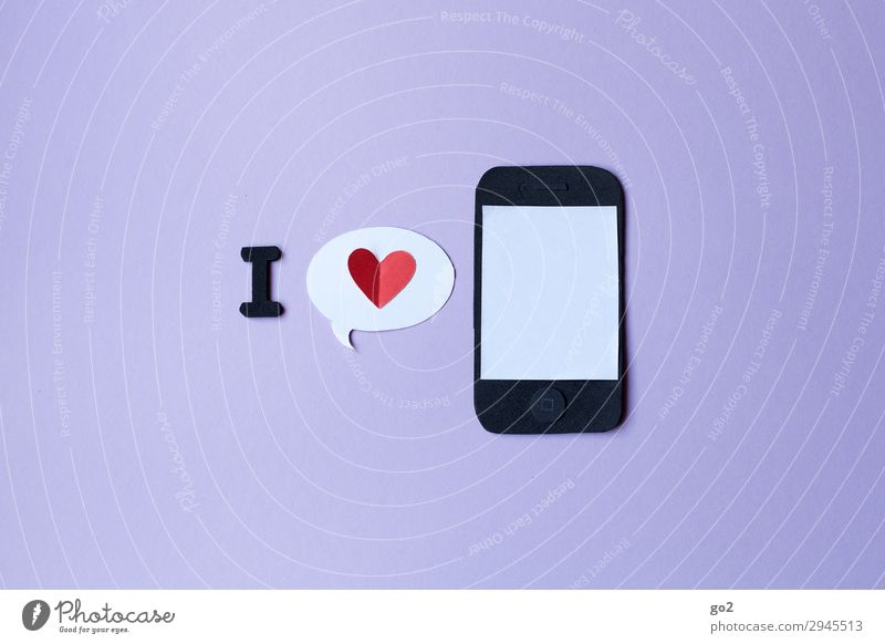 Love Communicate Technology Telecommunications Heart Shopping Sign Internet Cellphone Contact Information Technology Society Mobility PDA Handicraft Addiction