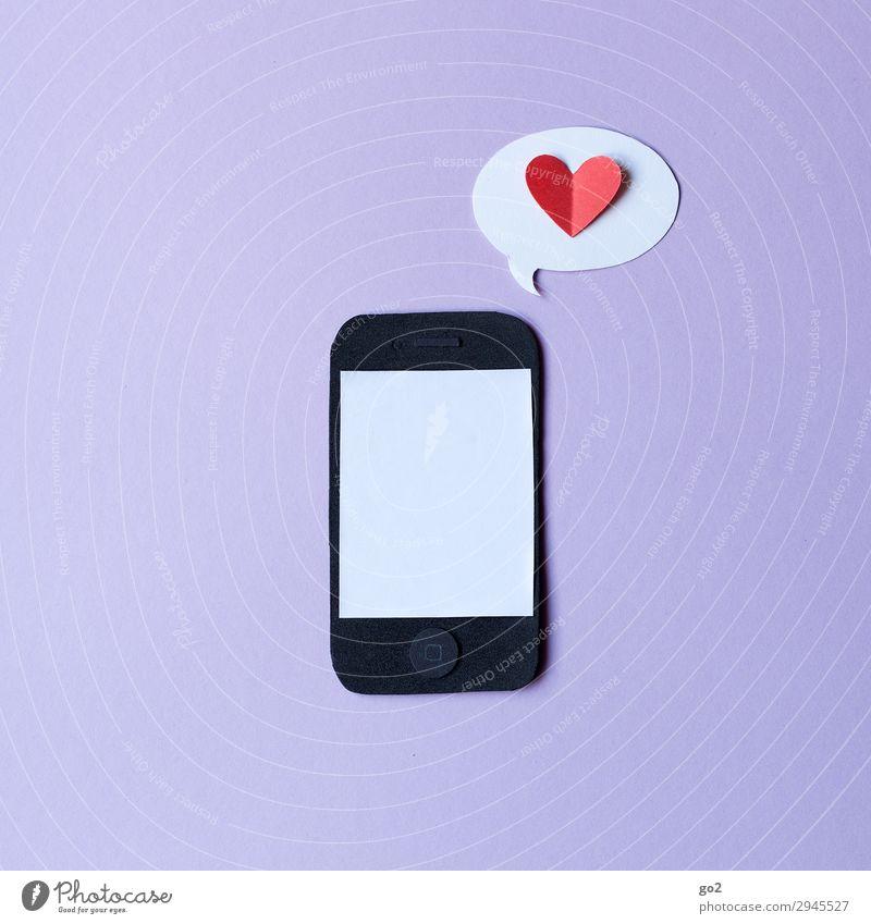cell phone love Handicraft Cellphone PDA Technology Entertainment electronics Advancement Future Telecommunications Information Technology Internet Media