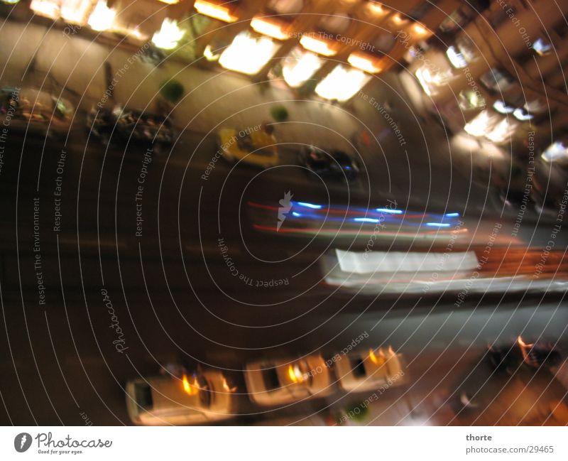 Maximilian Street Munich Night Tram Ambulance Taxi Transport