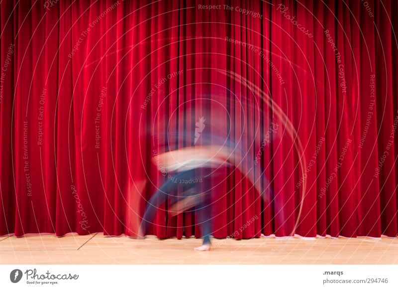 Human being Red Movement Style Art Exceptional Dance Speed Shows Culture Media Event Stage play Theatre Whimsical