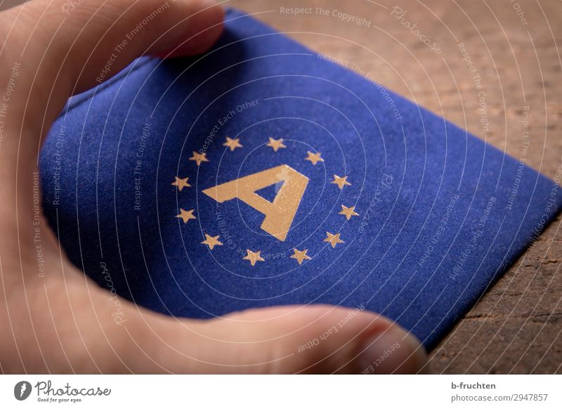 European Economy Trade Business Team Fingers Sign Select Utilize To hold on Free Together Blue Gold Solidarity Society Future European flag Attachment Austria