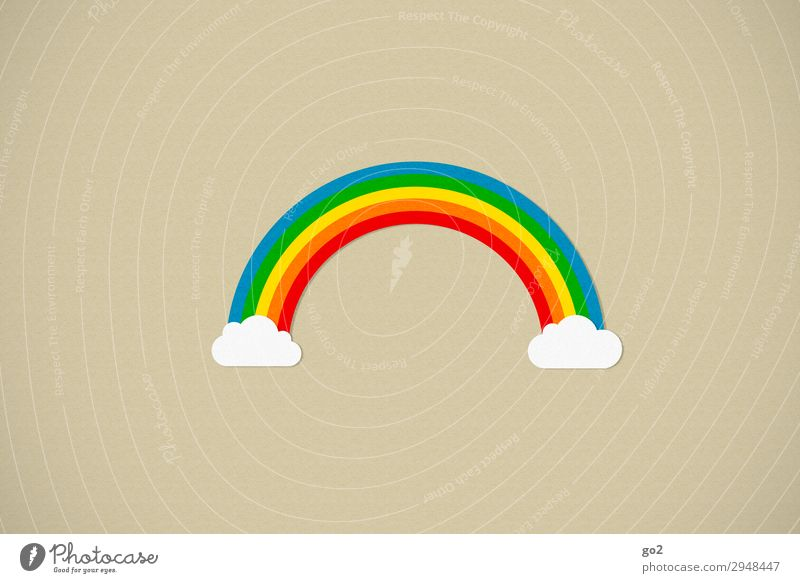 over the rainbow Life Harmonious Well-being Sign Esthetic Happiness Joie de vivre (Vitality) Optimism Solidarity Tolerant Uniqueness Freedom Happy Climate