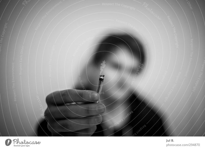 ganja Candy Chocolate Dinner Calm Room Masculine Smoking Positive Moody Happiness Contentment Tobacco products Black & white photo Night Blur