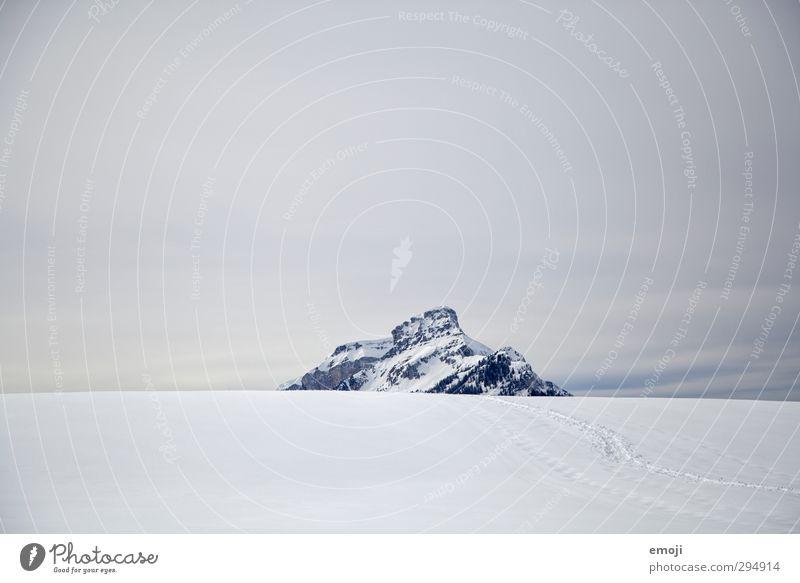 Sky Nature White Landscape Winter Environment Mountain Cold Snow Alps Peak Snowcapped peak