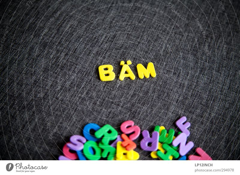 Letters BÄM Reading Toys Plastic Characters Select Aggression Multicoloured Yellow Might Anger Grouchy Animosity Force Fear Frustration Testing & Control