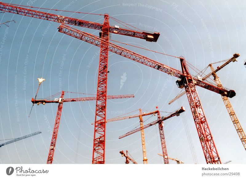 Sky Industry Construction site Build