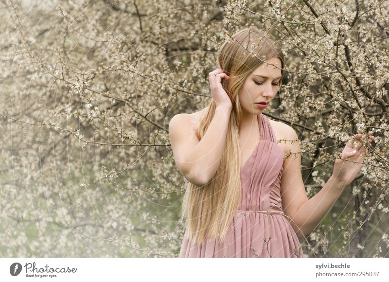 Spring coming?! Elegant Style Beautiful Hair and hairstyles Human being Feminine Young woman Youth (Young adults) Life 18 - 30 years Adults Environment Nature
