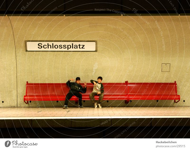 Session III Underground Railroad Station Stuttgart Child Transport Town bank children Wait Sit