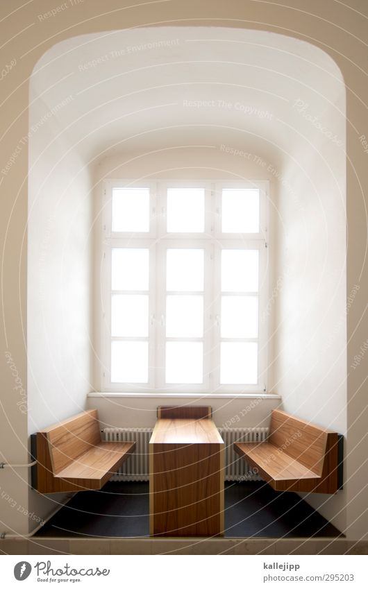 window space in the wood class Lifestyle Style Design Living or residing Dream house Interior design Furniture Table Room Bright Window seat Niche Wood