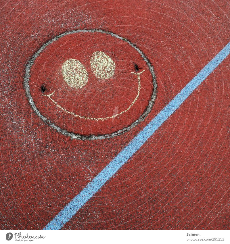 Red Joy Eyes Laughter Funny Line Mouth Smiling Places Happiness Circle Floor covering Round Joie de vivre (Vitality) Serene Whimsical