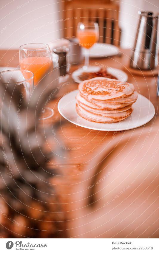Healthy Eating Art Essen Nutrition Esthetic Delicious Coffee Breakfast Set meal Weekend Orange juice Breakfast table Morning break