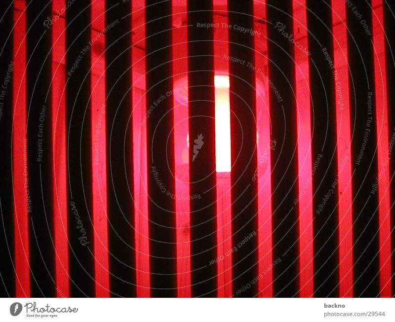 sauna lighting Red Lamp Grating Light Leisure and hobbies Sauna