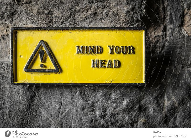 MIND YOUR HEAD Vacation & Travel Healthy Wall (building) Tourism Wall (barrier) Head Trip Technology Success Adventure Historic Industry Sign Construction site