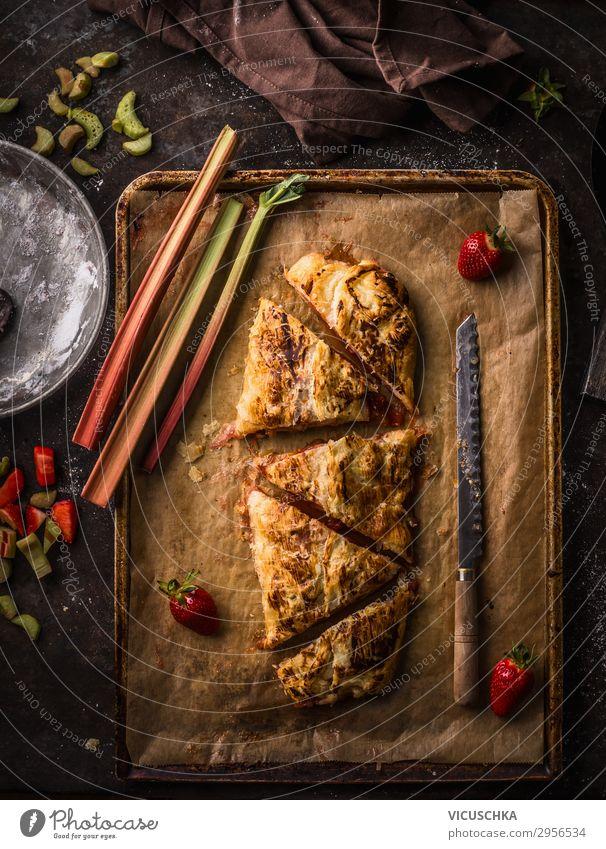 Healthy Eating Summer Food photograph Style Fruit Living or residing Design Nutrition Baked goods Cake Organic produce Crockery Make Knives Baking