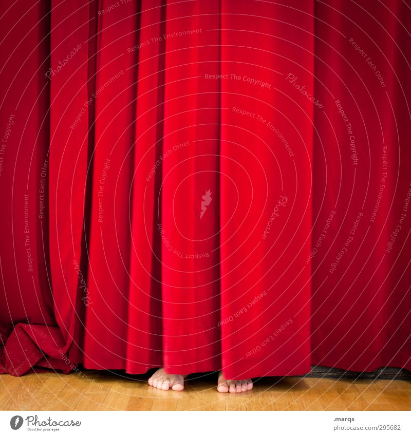 Human being Red Funny Feet Exceptional Shows Culture Curiosity Media Hide Event Stage play Whimsical Cinema Drape