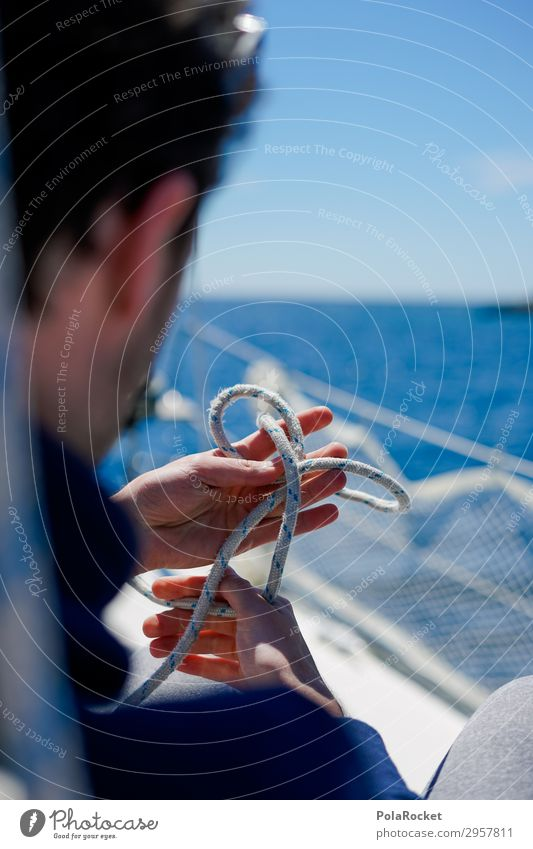 #S# Node V Lifestyle Joy Happy Knot Practice Sailing Sailboat Sailing ship Sailing yacht Sailing trip Sailing vacation Ocean Aim Study Filament technology Rope