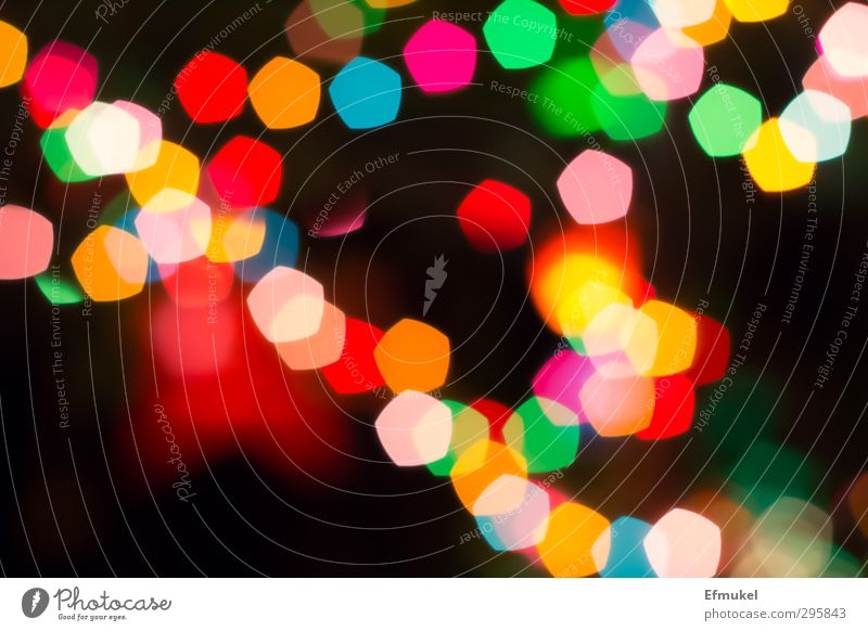 Background: coloured lights, blurred Style Design Exotic Decoration Night life Feasts & Celebrations Carnival Fairs & Carnivals Sign Joy Happiness