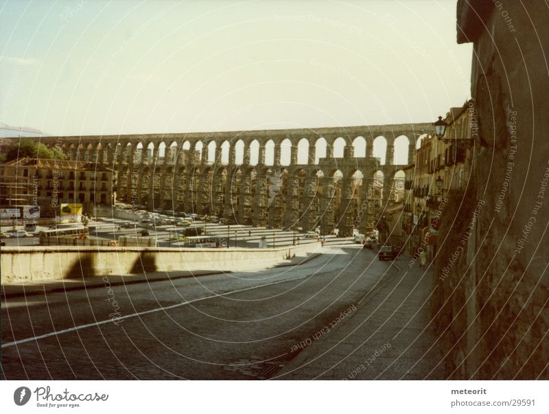 Bridge Italy Spain Rome Water resources management Water works Aqueduct Castilla-Leòn Segovia
