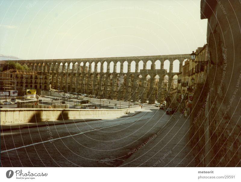 Bridge Italy Spain Rome Water resources management Water works Aqueduct Castilla-Leòn Segovia