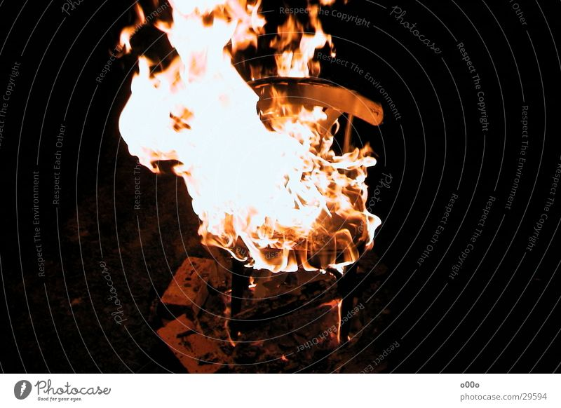 Blaze Chair Hot Obscure Burn Flame Seating