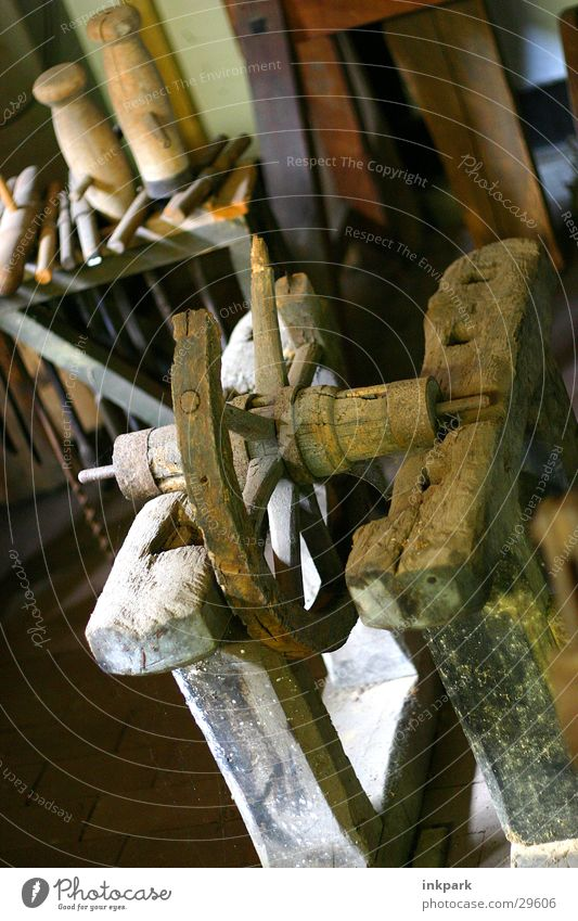 Old Wood Craft (trade) Rust Tool Spokes Lathe