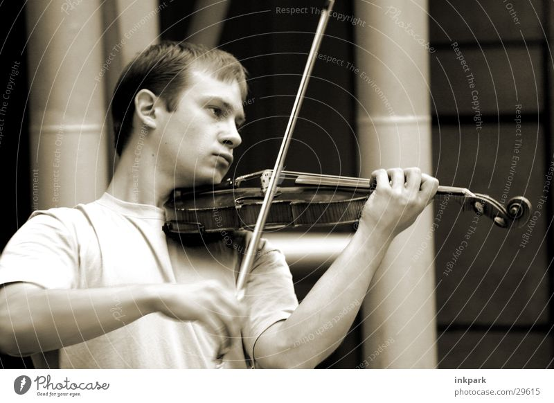 Man Playing Music Concert Listening Musical instrument Violin