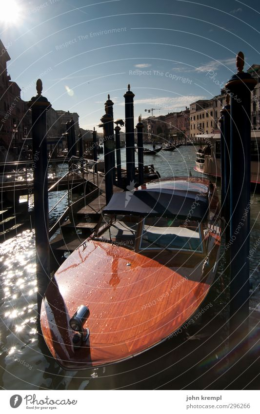 venice speedster Venice Italy Port City Old town Tourist Attraction Transport Navigation Boating trip Yacht Motorboat Channel Swimming & Bathing Cool (slang)