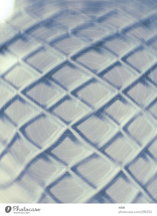 Blue Gray Art Glass Plastic Bend Dream world
