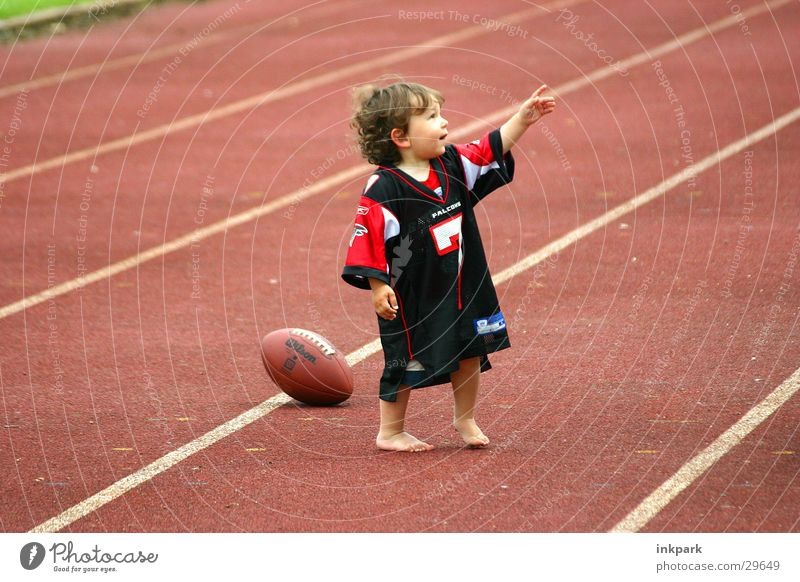 Sports Boy (child) Line Lawn Child Indicate American Football