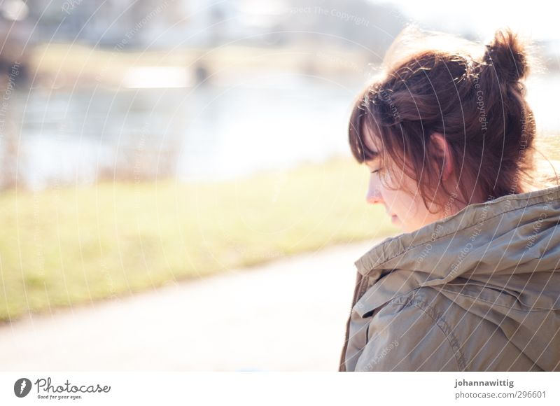 all i was searching for - Feminine Young woman Youth (Young adults) Life 1 Human being 18 - 30 years Adults Nature Landscape Sunlight Spring Beautiful weather
