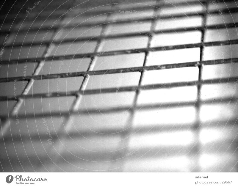 fence b/w Fence Wire Depth of field Industry Black & white photo Perspective Progress Grating Net
