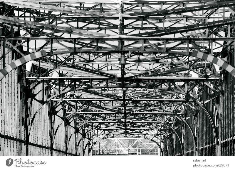 Architecture Munich Steel Fence Scaffold Bavaria Bridge Railroad bridge