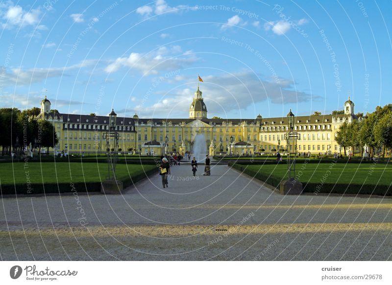 Karlsruhe Park Historic Lanes & trails roundabout