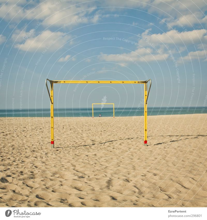 it is she Wellness Relaxation Calm Vacation & Travel Tourism Beach Sports Ball sports Football pitch Feminine Woman Adults Art Nature Landscape Sand Air Water