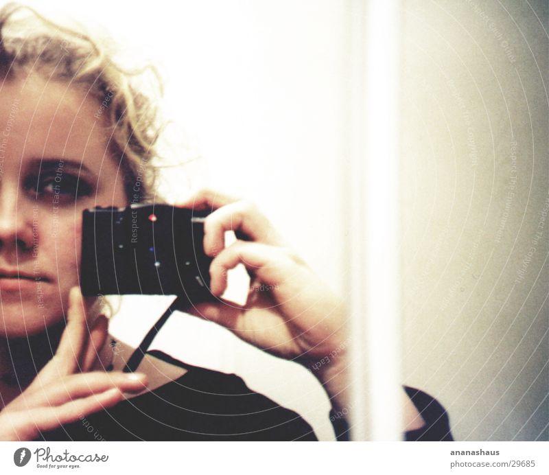 mirrors Feminine Mirror Woman Lomography self-portrait Bright