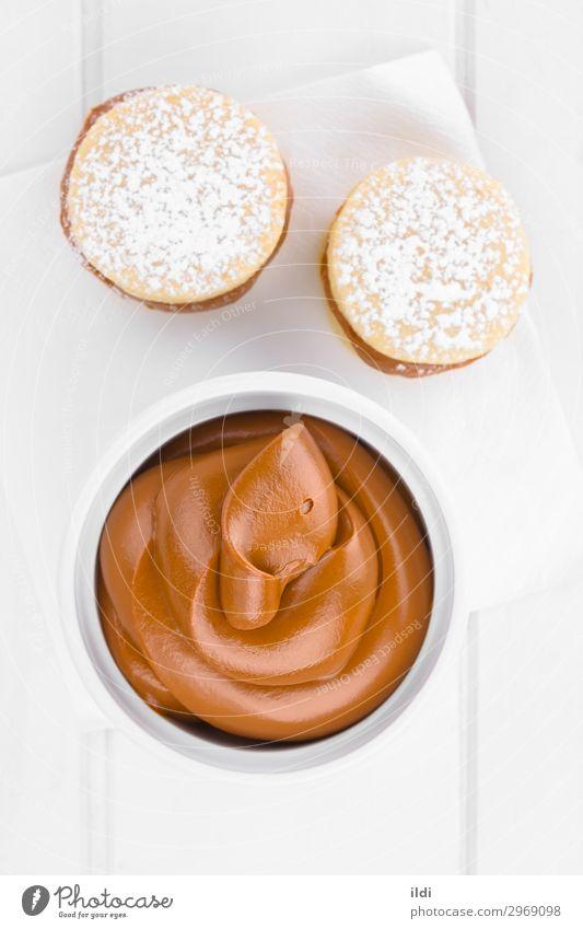 Latin American Manjar or Dulce de Leche Candy Soft food manjar dulce de leche arequipe blanco doce de leite Caramel toffee sweet Confectionary milk Sugar