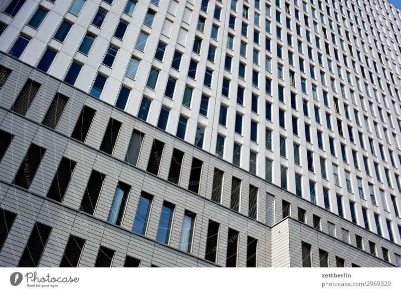 charity Architecture Berlin City Facade Window Glazed facade Worm's-eye view Building Capital city House (Residential Structure) Sky High-rise Downtown Hospital
